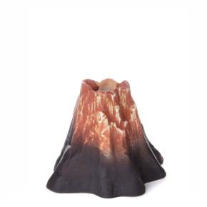 Sopka, keramická akvarijná dekorácia