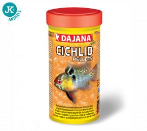 Dajana Cichlid pellets, krmivo (granule) pre ryby 250ml, 2 mm | © copyright jk animals, všetky práva vyhradené