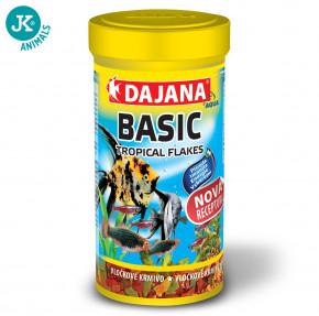 Dajana Basic Tropical flakes 250ml   © copyright jk animals, všechna práva vyhrazena