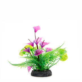 JK Mix kvetov, akvarijná plastová rastlinka
