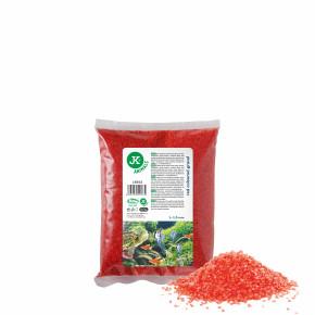 Dekoračný štrk červený 0,5kg