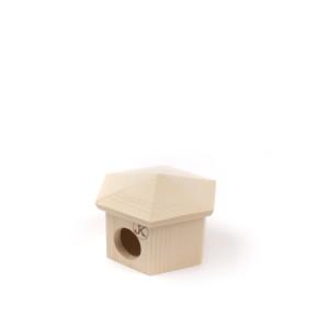 JK Drevený domček JURTA myška 11x9 cm