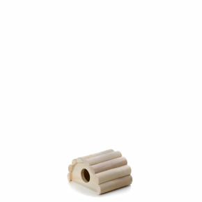 Drevené iglu myška 13×11×7,5 cm