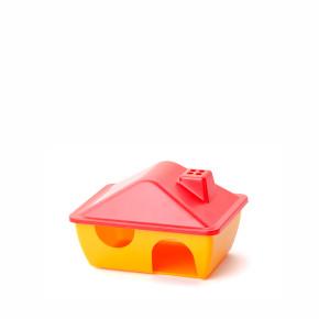 JK Plastový domček pre hlodavce 15x11x9 cm