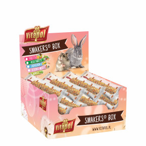 Vitapol Smakers Box - 12 klasov, hlodavec, ovocie