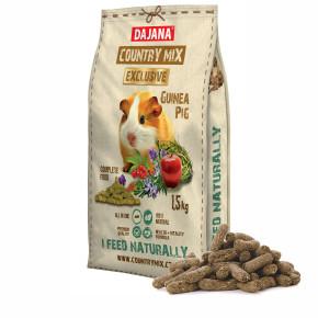 Dajana - COUNTRY MIX EXCLUSIVE, morča 1 500g, krmivo pre morčatá