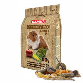 Dajana – COUNTRY MIX, Guinea Pig 1000 g, krmivo pre morčatá