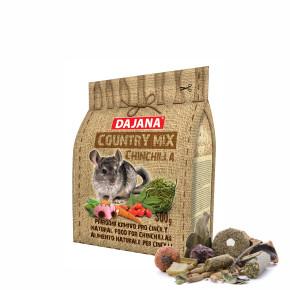 Dajana – COUNTRY MIX, Chinchilla 500g, krmivo pre činčily