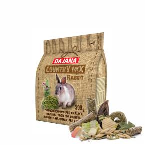 Dajana – COUNTRY MIX, Rabbit 500g, krmivo pre králika