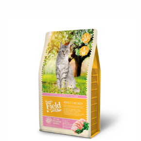Sams Field Cat Adult Chicken, superprémiové kuracie granule 2,5 kg (Sam's Field)