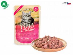 Sam's Field True Meat Fillets with Turkey & Broccoli for Kittens | © copyright jk animals, všechna práva vyhrazena