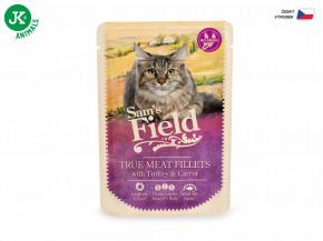 Sam's Field True Meat Fillets with Turkey & Carrot | © copyright jk animals, všechna práva vyhrazena