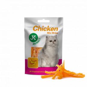 JK-Meat Snack Cat Chicken Strips 50g