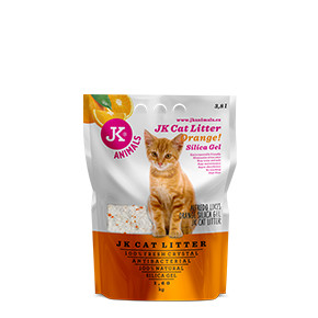 JK Litter Silica gel - orange 1,6 kg/3,8 l
