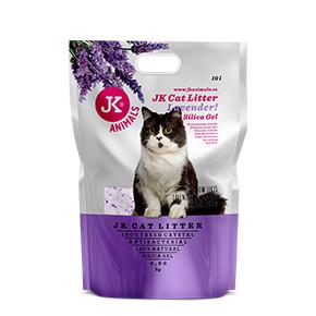 JK Litter Silica gel - lavender 4,3kg/10 l