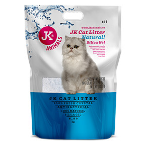 JK Litter Silica gel - natural 6,8kg/16 l