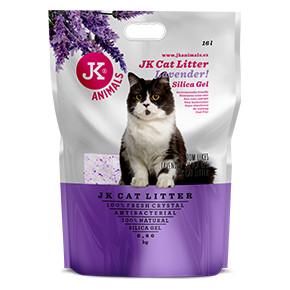 JK Litter Silica gel - lavender 6,8kg/16 l