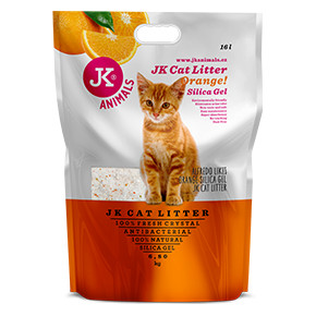JK Litter Silica gel - orange 6,8 kg/16 l