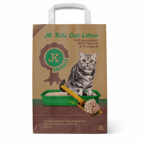 JK Tofu NATURAL cat litter 2,5 kg
