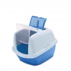 Mačacia toaleta MADDY JUNIOR modrá