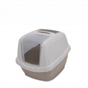 Mačacia toaleta MADDY JUNIOR sivá