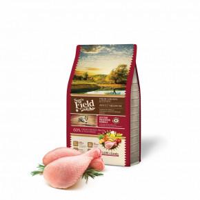 Sam's Field Low Grain Adult Medium Chicken & Potato, superprémiové granule, 2,5kg (Sams Field bez pšenice)