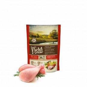 Sam's Field Low Grain Adult Mini Chicken & Potato, superprémiové granule, 800g (Sams Field bez pšenice)