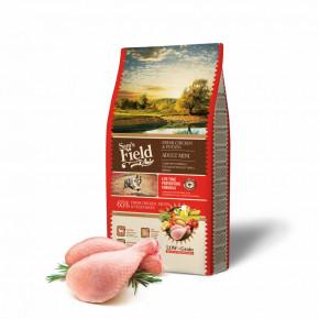 Sam's Field Low Grain Adult Mini Chicken & Potato, superprémiové granule, 8kg (Sams Field bez pšenice)