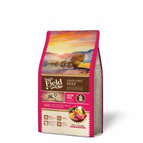 Sams Field Grain Free Beef (Angus), superprémiové granule 2,5kg (Sam's Field bez obilnín)