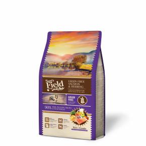 Sams Field Grain Free Salmon & Herring, superprémiové granule 2,5kg (Sam's Field)