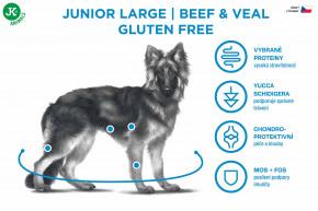 Sam's Field Gluten Free Beef & Veal Junior Large | © copyright jk animals, všetky práva vyhradené