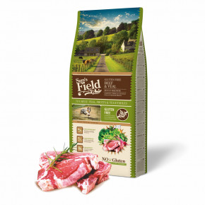 Sam's Field Gluten Free Beef & Veal Adult Medium, superprémiové granule, 13kg (Sams Field bez lepku)