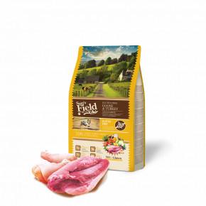 Sam's Field Gluten Free Goose & Turkey Adult Large, superprémiové granule, 2,5kg (Sams Field bez lepku)