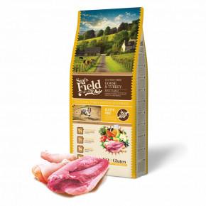 Sam's Field Gluten Free Goose & Turkey Adult Large, superprémiové granule, 13kg (Sams Field bez lepku)