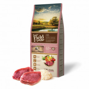 Sam's Field Low Grain Light & Senior Lamb & Rice, superprémiové granule, 13kg (Sams Field bez pšenice)