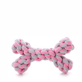 JK bavlnená kosť ružová, bavlnená hračka