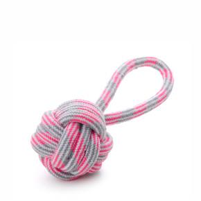 JK bavlnené preťahovadlo ružové, bavlnená hračka
