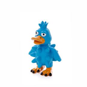 Latexová kačica bodliny, cca 13cm, latexová hračka