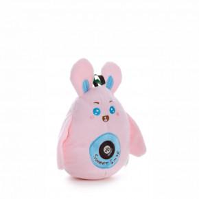 Plyšový zajačik, plyšová pískacia hračka, 16cm