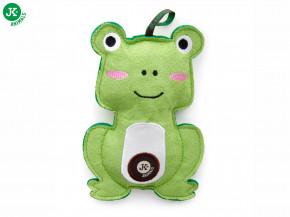 JK ANIMALS Žába, pískacia hračka z pevnej textilnej látky | © copyright jk animals, všetky práva vyhradené