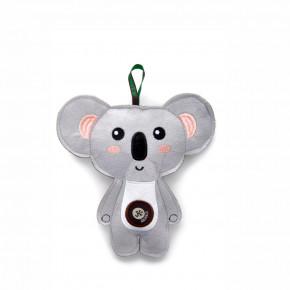 Koala, pískacia hračka z pevnej textilnej látky, 18cm