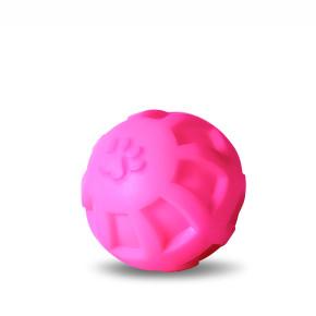 JK Vinylová lopta – labka L, pr. 10 cm, vinylová (gumová) hračka