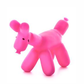 Vinylový psík z balónika 14,5 cm, vinylová (gumová) hračka