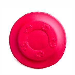 JK Frisbee červené 22 cm, odolná hračka z EVA peny