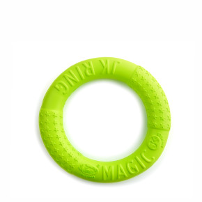 JK Magic Ring zelený 17 cm, odolná hračka zEVA peny