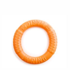JK Magic Ring oranžový 17 cm, odolná hračka zEVA peny