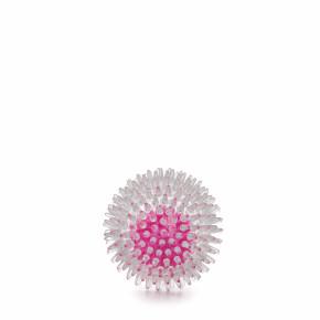 JK TPR LED loptička s bodliakmi 8 cm