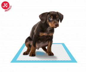 JK ANIMALS Premium Dog Pads 60 × 60 cm, 10 ks - plienky (podložky) pre psov a šteňatá | © copyright jk animals, všetky práva vyhradené