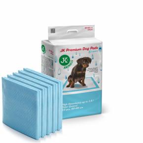 JK Premium Dog Pads 60×90cm, 10ks–plienky (podložky) pre psov a šteňatá