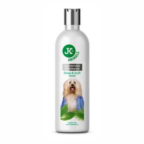 Šampón pre dlhú srsť, prémiový šampón pre psy
